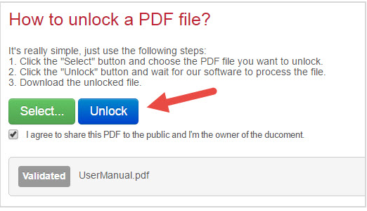 После загрузки нужно нажать «Unlock»
