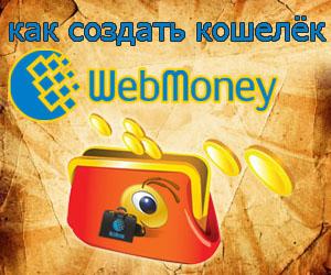 Как создать кошелёк webmoney: пошаговая инструкция получения электронного кошелька в интернете