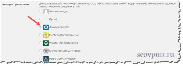 gravatar в wordpress