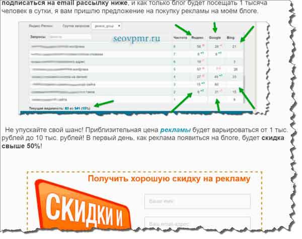 реклама на seovpmr.ru