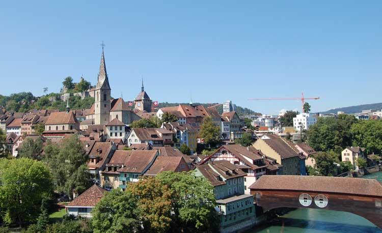 город в Швейцарии Баден