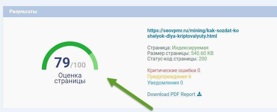 Тест сайта